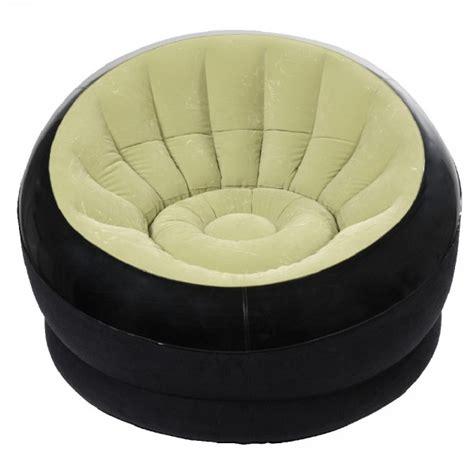 siege gifi fauteuil gonflable intex onyx vert salon mobilier gifi