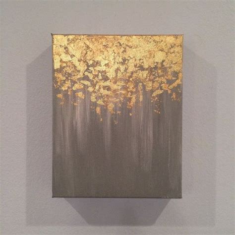 Gold Leafing Paint by 25 Best Ideas About Gold Leaf On Abstract