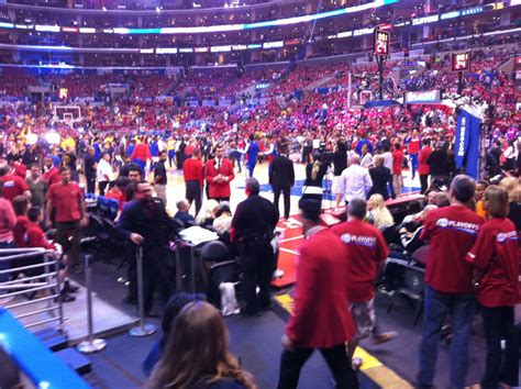 staples center section 117 staples center section 117 clippers lakers