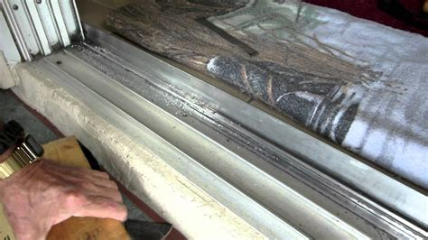 patio door repair home repairs 8 ft sliding door track repair