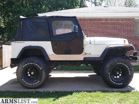 1991 Jeep Wrangler Sale Armslist For Sale 1991 Jeep Wrangler