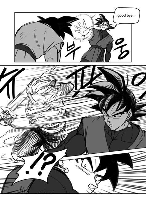 black x black manga black goku 3 by oume12 on deviantart