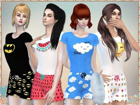sims 4 pajamas 17 best images about pijama sims 4 cp on pinterest