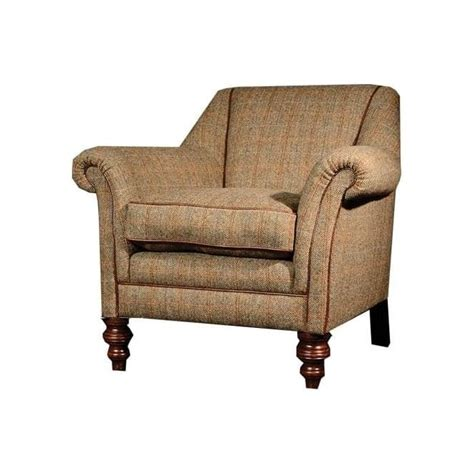 tetrad armchair tetrad dalmore harris tweed armchair in fabric at smiths the rink