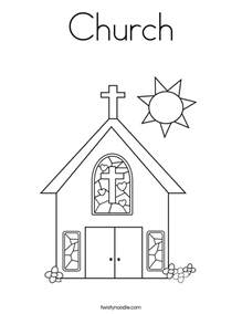 church coloring pages church coloring page twisty noodle