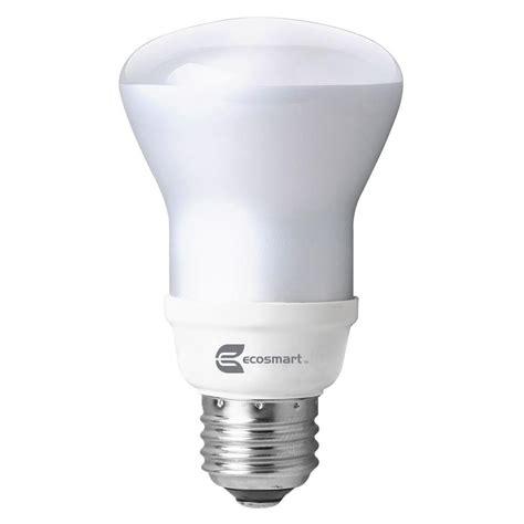 ecosmart 100 light led warm white m5 light set ecosmart 100w equivalent bright white spiral cfl light bulbs 4 pack esbm823435k the home depot