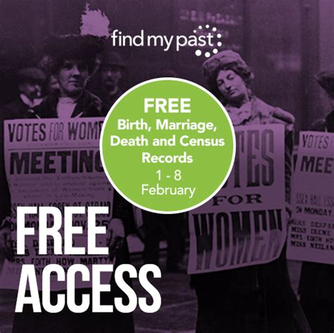 Free Access To Birth Records Uk Free Access To Millions Of Uk Bdm And Census Records On Findmypast Genealogy