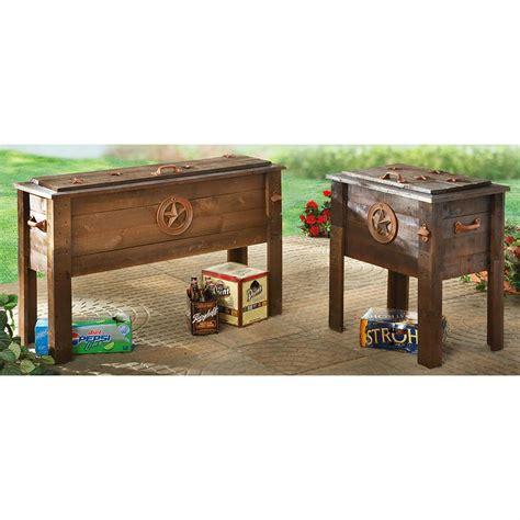 rustic cooler 87 quart 150439 decorative accessories
