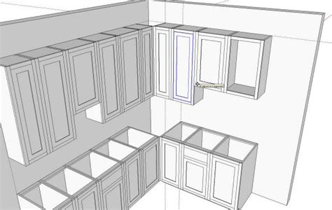 kitchen design sketchup kitchens in sketchup finewoodworking