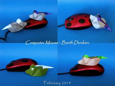 Origami Computer Mouse - 17 best images about origami wardrobe