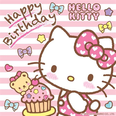 Hello Happy happy birthday hellokitty nov 01st sanrio