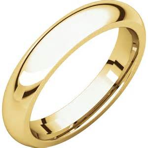Comfort Fit Band by 4mm Comfort Fit Wedding Band