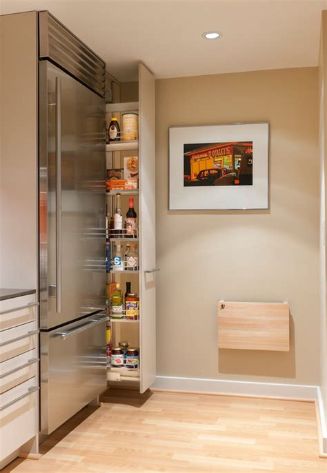 Small Space Pantry Diy Pull Out Pantry Shelves Space Saving Kitchen