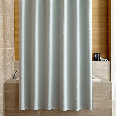 spa blue curtains pebble matelass 233 spa blue shower curtain crate and barrel