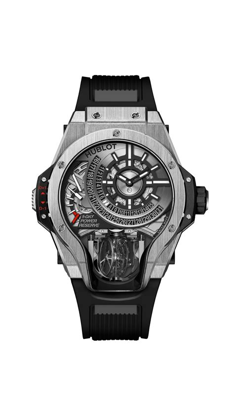Hublot knows how to keep up with the time with its last