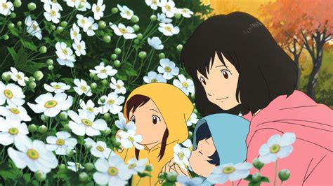 wolf children anime the wolf children funimation dub preview