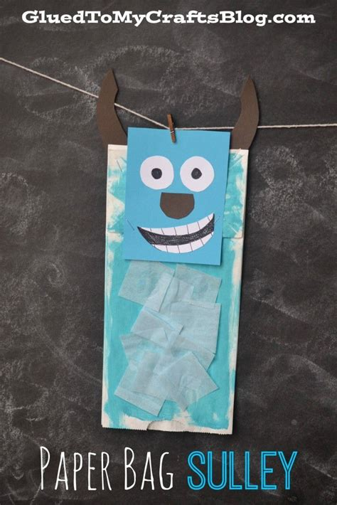Paper Bag Crafts For Adults - best 25 characters from monsters inc ideas on