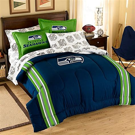 seahawks bedding twin bedding gt nfl seattle seahawks complete bed ensemble from