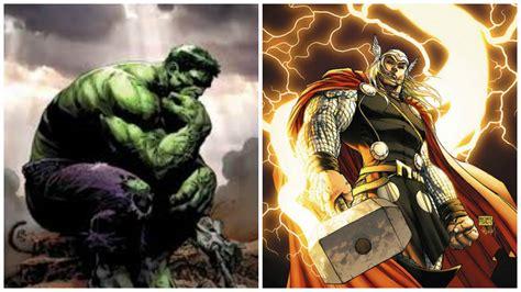 hulk amp thor vs team battles comic vine