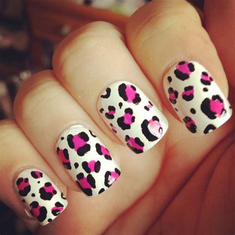 imagenes de uñas decoradas animal print u 241 as animal print de color rosa pink youtube