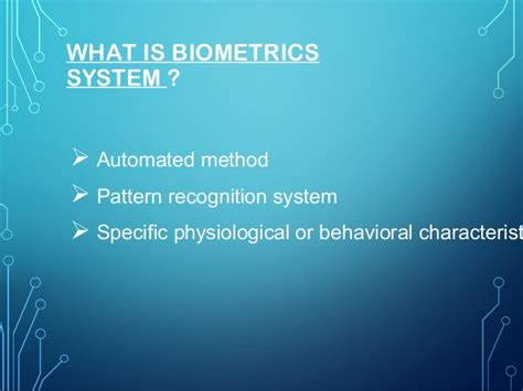pattern recognition using generalized portrait method bio metric security system