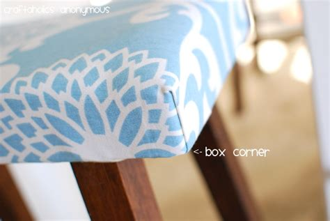 upholstery how to do corners upholstered stools