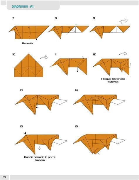 Origami Barking - 91 best origami hund images on dogs diy and books