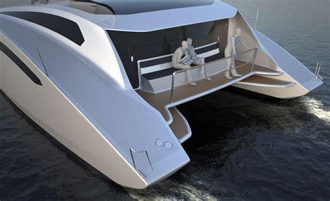 catamaran design features zero sail concept sailing catamaran features modern racing