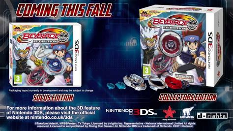 Nintendo 3ds Beyblade Evolution beyblade evolution 3ds trade trailer