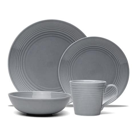 Dinner Set Modern Grey royal doulton gordon ramsay maze grey set 16pce