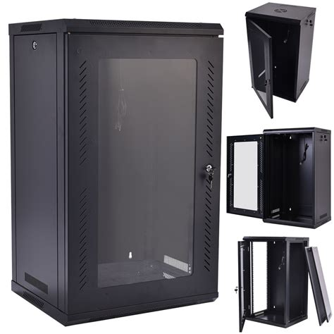 wall mount network cabinet 15u wall mount network server data cabinet enclosure rack