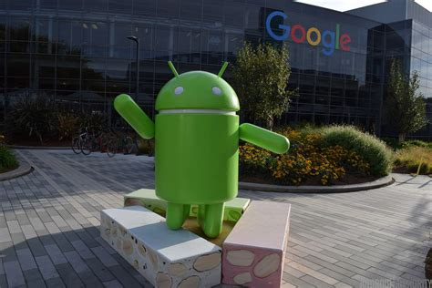 android statues visiting googleplex what s open to the what s it like android authority