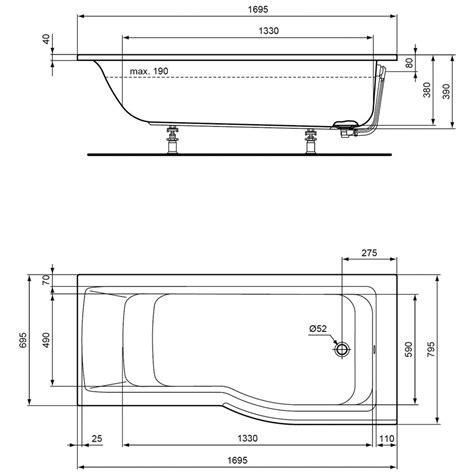 Ideal Standard Connect Badewanne. ideal standard connect