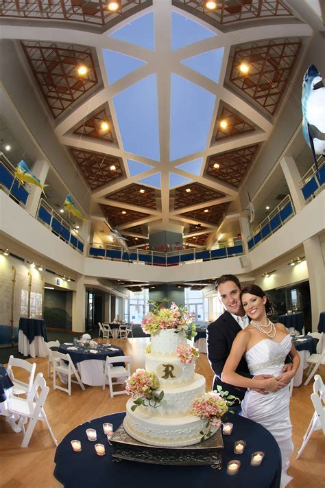 Plan a wedding, or any event at the Texas State Aquarium
