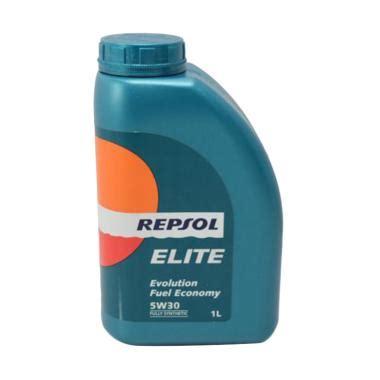 Oli Repsol 1 Liter Jual Repsol Elite Evolution Fuel Economy 5w 30 Fully