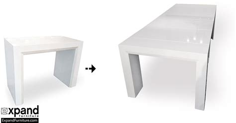 console table that extends to dining table