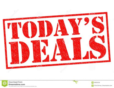 today s today s deals stock illustration image of advertisement