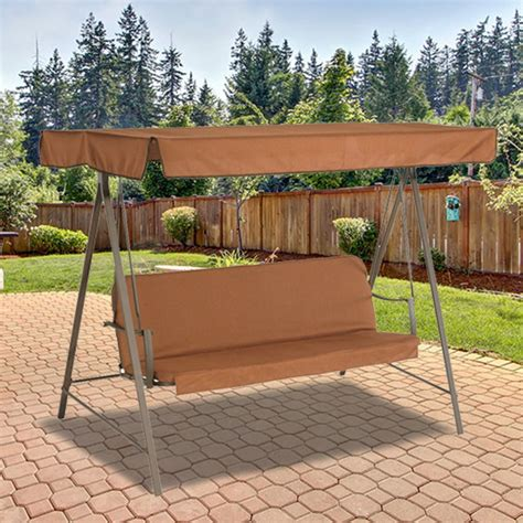 ace hardware porch swing replacement canopy for living accents 3 person swing