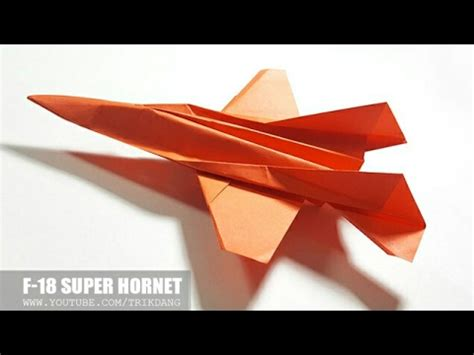 How To Make A Fast Flying Paper Airplane - paper jet fighter how to make a paper airplane that