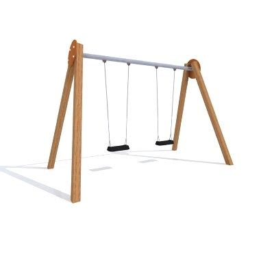 swing 3d 3ds max wooden swing
