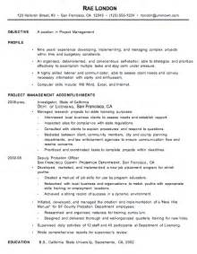 doc 550711 project management resume bizdoska com experienced it project manager resume sle writing resume sle writing resume sle