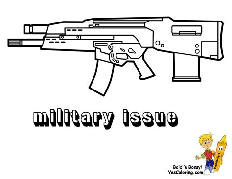 free printable coloring pages of guns pistol gun coloring pages