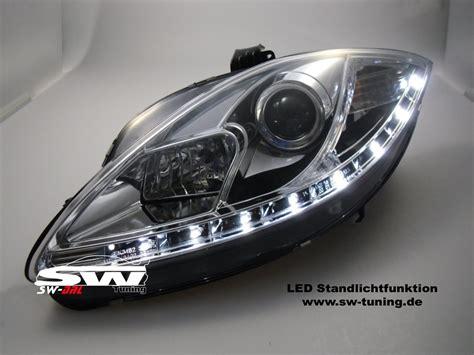 led len kaufen sw drl headlights seat 05 09 daytime running l