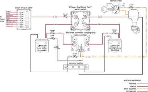 blue sea systems battery switch wiring diagram upgrading battery switching and charge management with the