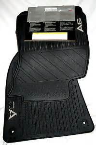 late 2006 to 2010 audi a6 rubber floor mats factory