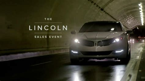 lincoln sales event lincoln mkz sales event tv commercial ispot tv