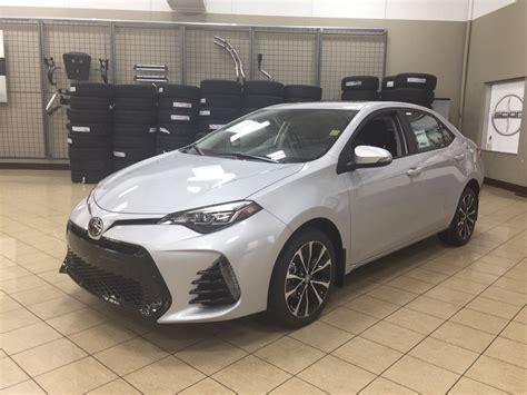 toyota corola se new 2018 toyota corolla se upgrade 4 door car in sherwood