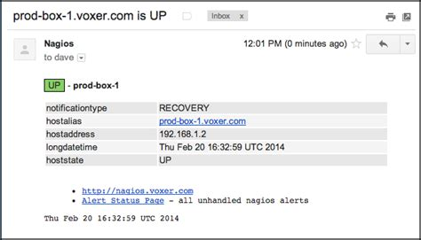 nagios email notification template nagios html email