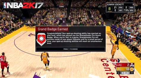 get pro how to get sharpshooter pro grand badge in nba 2k17