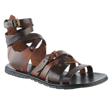 aldo sandals mens aldo howery in brown for lyst